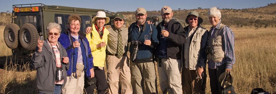 Voyage senior au safari