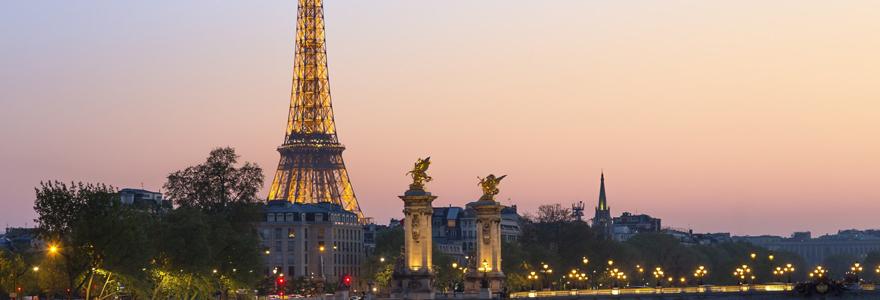 vacances d'été à Paris